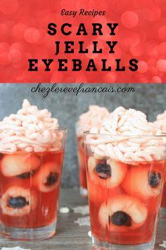 Halloween Jelly, Halloween Desserts, Halloween Treats, Halloween 2020, Halloween Party, Incredible Recipes, Great Recipes, Good Food, Yummy Food