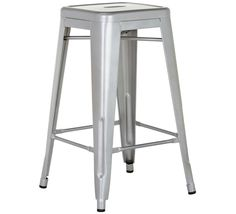 Worx Large Bar Stool in Silver from Fantastic Furniture at Crossroads Homemaker Centre