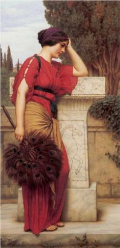 The Thoughtful One - John William Godward