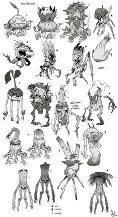 Forest creature, David Sequeira on ArtStation at https://www.artstation.com/artwork/forest-creature-c99203ec-4aa7-4783-9382-f4afe49dc11c