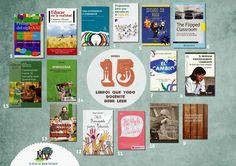 En posts anteriores recomendé 12 libros que todo docente debe leer  y otros 10 libros que todo docente debe leer . Sería injusto dejarme ...