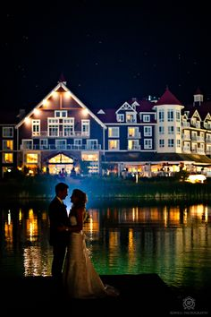 CLICK THIS PIN to see more of the best Blue Mountain night wedding photos.  blue mountain resort wedding photography