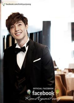 KHJ OFFICIAL FACEBOOK PAGE Update: Kim Hyun Joong Dashing in Suit for Lotte Busan Hotel