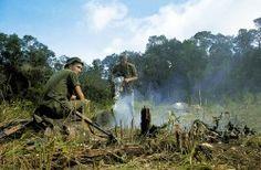1966 Soldiers of the 6th Battalion, Royal Australian Regiment, Nui Dat, Vietnam