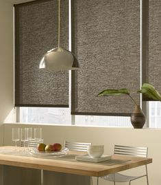 as shown: roller shades | grassweave | bark     http://www.theshadestore.com/product2/roller-shade-light-filtering?prcid=845359