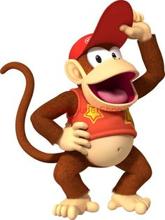 Choose Size - DIDDY DONKEY KONG Mario Decal Removable WALL STICKER Video Game