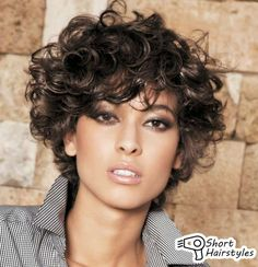 Hairstyles For Short Curly Hair Amusing 30 Curly Short Hairstyles For Womens  Pinterest  Curly Short
