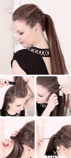~ DIY Perfect Pony Tail For Summer Tutorial~