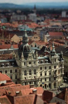 Tilt Shift Cities