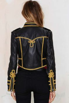 Nasty Gal Under The Leather Embroidered Jacket - Clothes   Jackets   Jackets + Coats