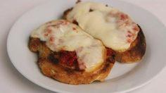Sun Dried Tomato and Smoked Mozzarella Bruschetta Recipe - Laura in the Kitchen