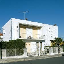 royan villa mitoyenne architecte r barre construction 1957 royan pinterest villas and. Black Bedroom Furniture Sets. Home Design Ideas