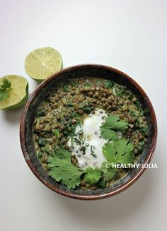 Discover recipes, home ideas, style inspiration and other ideas to try. Vegan Lentil Recipes, Vegetarian Recipes, Cooking Recipes, Healthy Recipes, Indian Diet Recipes, Ethnic Recipes, Plat Vegan, Iron Rich Foods, Plant Based Diet
