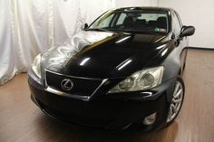 Cars for Sale: Used 2008 Lexus IS 250 in AWD, PHILADELPHIA PA: 19115 Details…