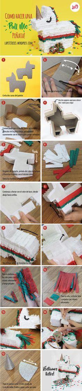 Como hacer una piñata de unicornio! (Tutorial paso a paso)