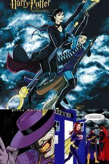 CELINA: Virago has some fun with a superheroine