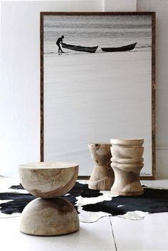 Contrasting Home Decor At Weylandts - AphroChic | Modern Global Interior Decorating