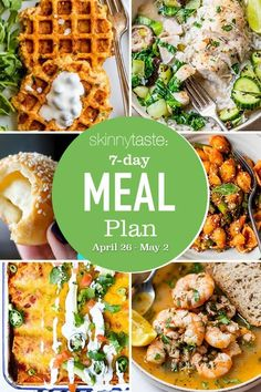 Diet Recipes, Healthy Recipes, Healthy Dinners, Healthy Options, Delicious Recipes, Healthy Foods, 7 Day Meal Plan, Meal Prep, Clean Eating