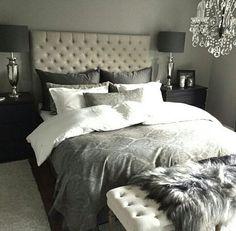 Bedroom ideas home interior bedroom decorating Dream Rooms, Dream Bedroom, Home Decor Bedroom, Living Room Decor, Master Bedroom, Bedroom Ideas, Bedroom Inspo, Bedroom Inspiration, Beautiful Bedrooms