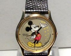 Mickey Mouse Watch Disney Seiko Magical Stars Men's Watch #Seiko