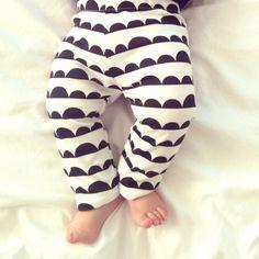gender neutral baby clothes baby leggings modern by BABYdeardotca
