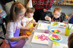 Suburbs Mama: Kids Craft Birthday Party