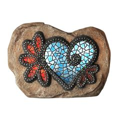 Moonrays Chris Emmert Designs 7 in. Outdoor Polyresin LED Hearts and Flowers