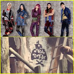 Descendants 2 we ride with the tide