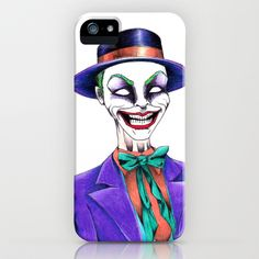 JOKER iPhone & iPod Case by ReadThisVA - $35.00