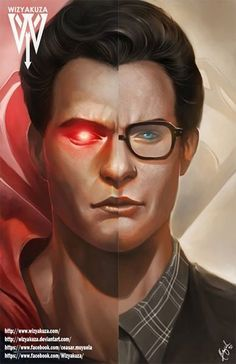 Clark Kent Henry Cavill & Superman Split Batman vs. by Wizyakuza