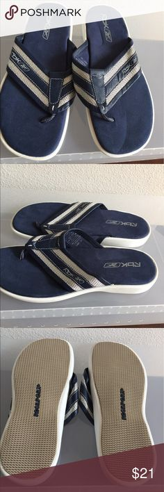 68fe640d9a5 MENS RBX CANVAS THONGS SLIP ONS GREAT FOR THE BEACHES POOLS COMFORTABLE TO  JUST STROLL AROUND TOWN Reebok Shoes Loafers   Slip-Ons