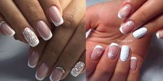 The most popular style of manicure is the French!