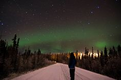 The Northern Lights by Ryuya, via Flickr