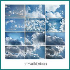 Ilość nakładek nieba w zestawie: 12 Format: JPG Rozdzielczość: px, 300 DPI Sky Photoshop, Photoshop Overlays, Photoshop Elements, Picture Editing Software, Editing Pictures, Cloud Photos, Digital Backdrops, Sunset Sky, Sky And Clouds