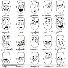 Uplifting Learn To Draw Faces Ideas. Incredible Learn To Draw Faces Ideas. Drawing Cartoon Faces, Cartoon Art, Cartoon Ideas, Female Cartoon, Cartoon Styles, Character Drawing, Character Illustration, Animation Character, Character Sketches