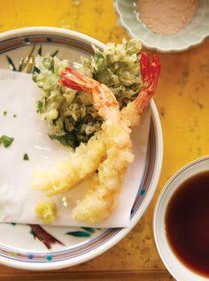 Tempura de légumes et de fruits de mer Recettes | Ricardo