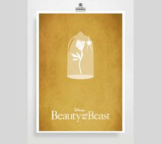 Disney Beauty and the Beast Movie Poster  Disney by POSTERED, $18.00