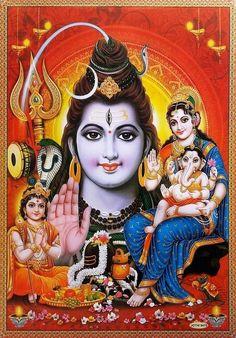 Shiva Parvati Images, Shiva Hindu, Lakshmi Images, Shiva Art, Hindu Deities, Saraswati Goddess, Kali Goddess, Divine Goddess, Durga