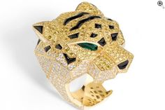 cartier jaguar ring panth re jewelry circa product