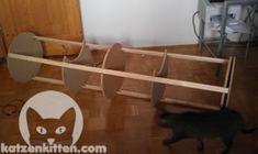 Wie du eine günstige Kratztonne selber bauen kannst, siehst du hier!