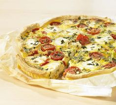 Cake Flan, Quiche Lorraine, Recipe Details, Oven Recipes, Fabulous Foods, Vegetable Pizza, Entrees, Quiches, Good Food