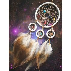 He encontrado este interesante anuncio de Etsy en https://www.etsy.com/mx/listing/206268463/white-four-ring-dream-catcher-with