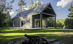 Devyni Architektai  охотничий домик в Литве