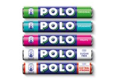 """The new branding has been designed by Taxi Studio, and aims to create a more """"simple, contemporary"""" look for Polo mints."""