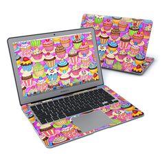 MacBook Air 13in Skin - Cupcake by Dan Morris | DecalGirl Dan Morris, Macbook Air 13, Laptop Skin, Cupcake, Apple, My Style, Apple Fruit, Cupcakes, Cupcake Cakes