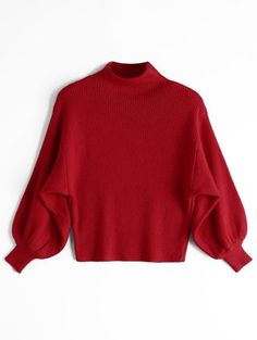 GET $50 NOW | Join Zaful: Get YOUR $50 NOW!https://m.zaful.com/lantern-sleeve-mock-neck-sweater-p_379334.html?seid=3265657zf379334