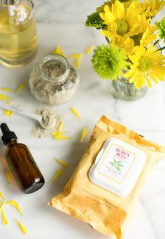 3-Part Spring Skincare + Homemade Face Serum