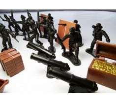 Battling Pirates- 36 piece zoom in. Neat items in this set!