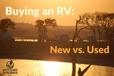 Blog Post: Shopping for an RV? Our experiences buying used and new.