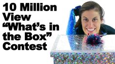 "My 10 Millionth YouTube view is right around the corner, and to celebrate, I'm giving one lucky viewer a $25 Amazon gift card. So it's time to play, ""What's in the Box!"" Just watch the video, then put your guess in the comments below! For full contest rules and details, visit http://www.askdoctorjo.com/10million"